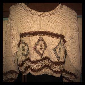 Sweaters - Crop sweater.